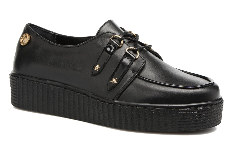 Schnürschuhe Tommy Hilfiger Gigi Hadid Creeper Shoe schwarz detaillierte ansicht/modell