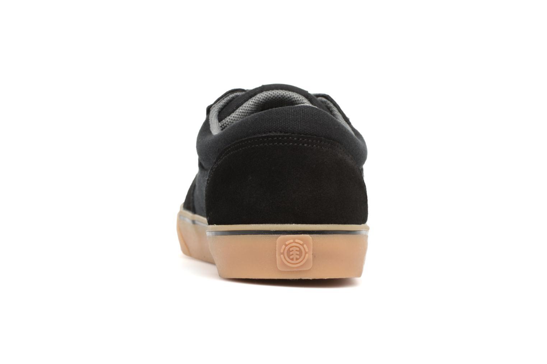 Sneakers Element Wasso Nero immagine destra