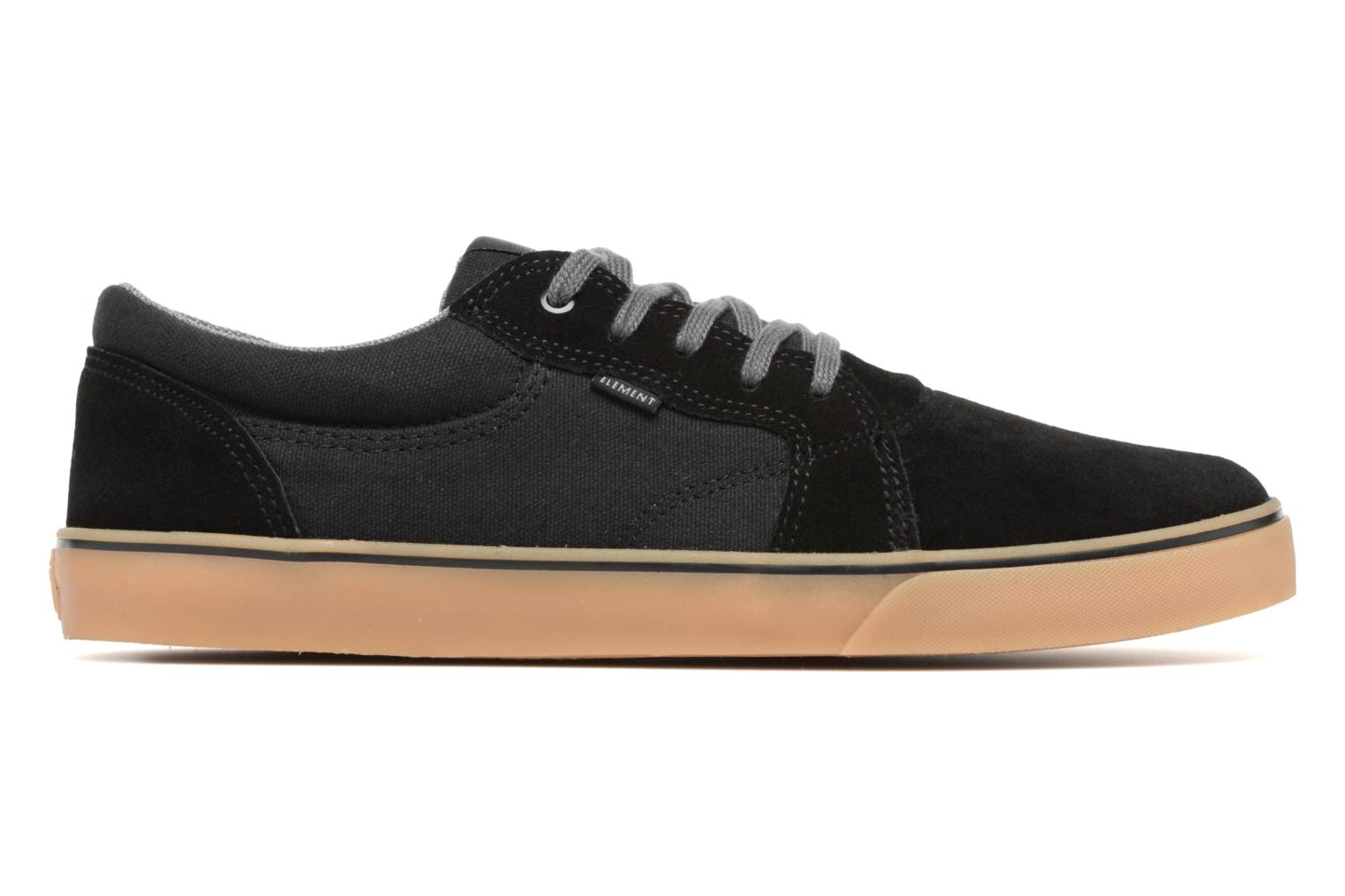Sneakers Element Wasso Zwart achterkant