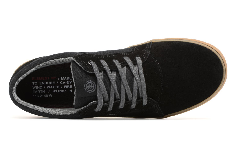 Sneakers Element Wasso Zwart links