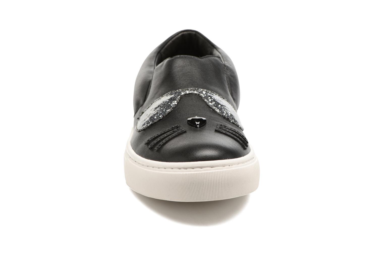 Kupsole Choupette Toe Slip On Black