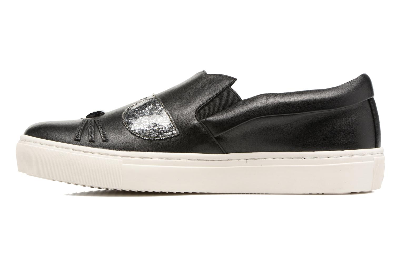 Grandes descuentos últimos zapatos Karl Lagerfeld Kupsole Choupette Toe Slip On (Negro) - Deportivas Descuento