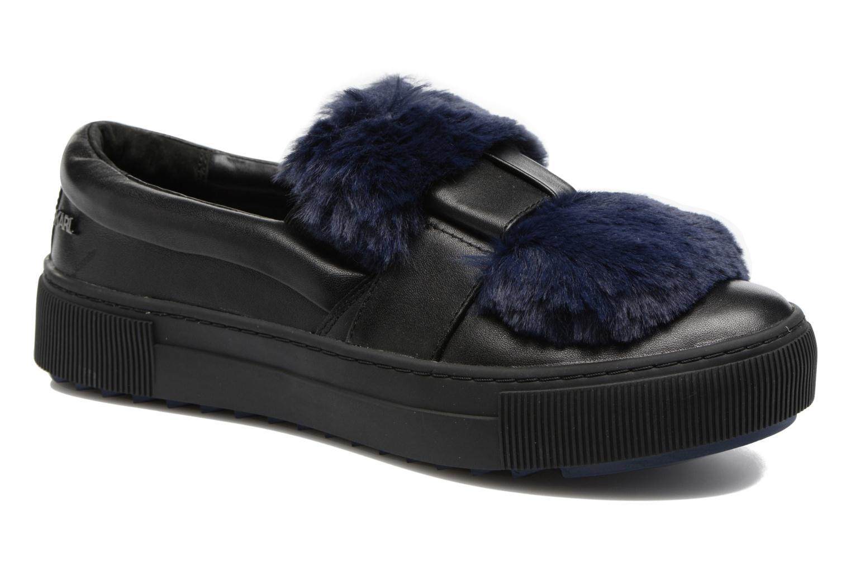 Zapatos promocionales Karl Lagerfeld Luxor Kup PomBow Slip On (Negro) - Deportivas   Gran descuento