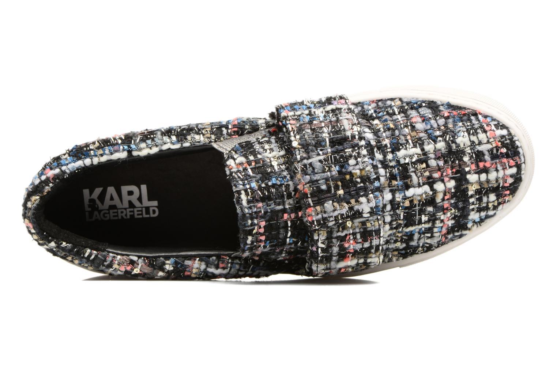 Baskets Karl Lagerfeld Kupsole Bow Slip On Multicolore vue gauche