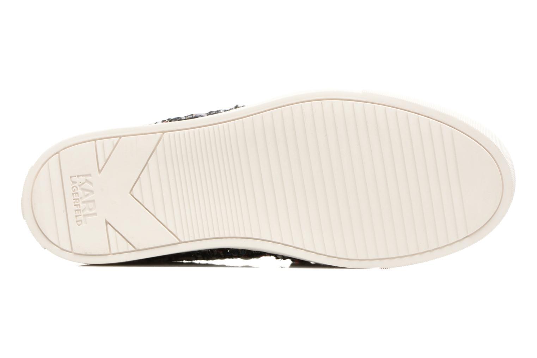Baskets Karl Lagerfeld Kupsole Bow Slip On Multicolore vue haut
