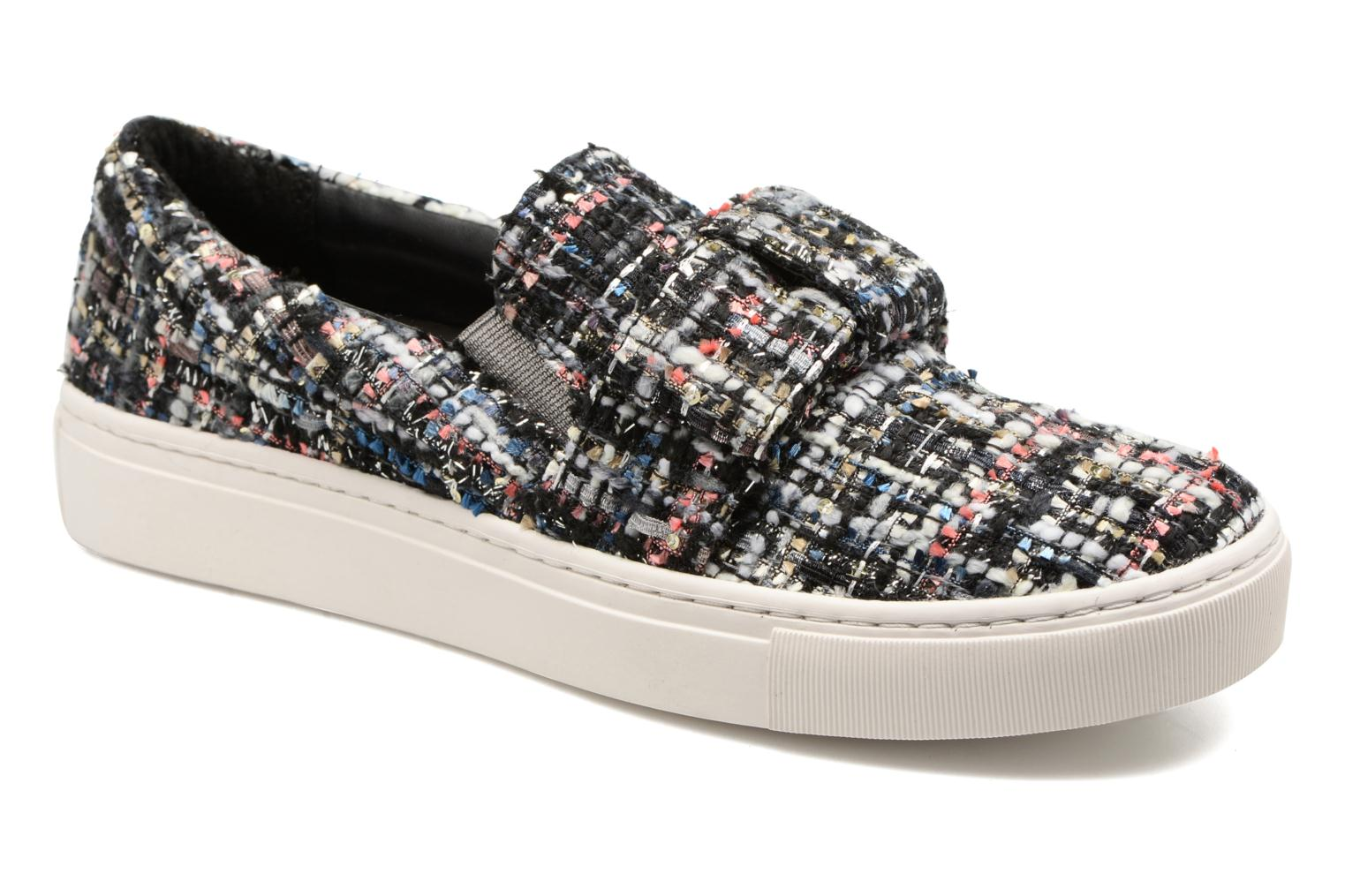 Marques Chaussure femme Karl Lagerfeld femme Kupsole Bow Slip On Lt Pink Boucle Tweed