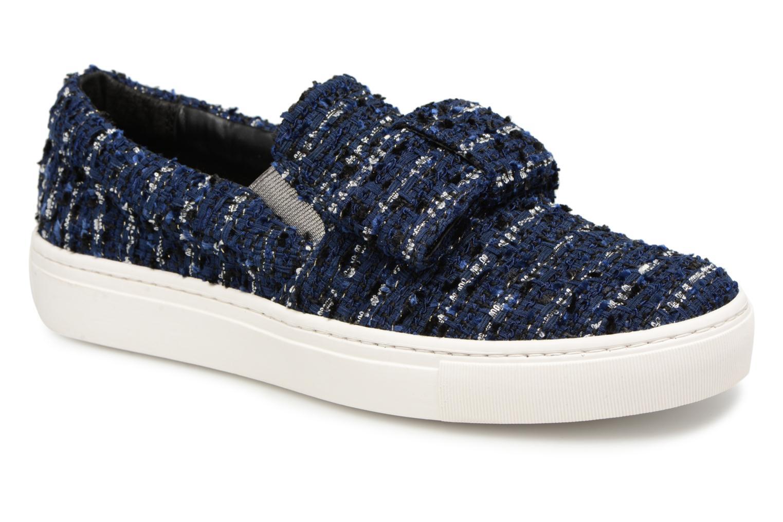 Grandes descuentos últimos zapatos Karl Lagerfeld Kupsole Bow Slip On (Azul) - Deportivas Descuento