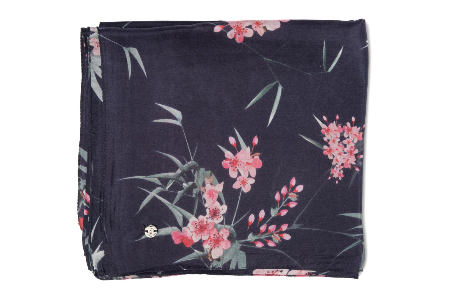 Silk Scarf 185x85 Navy