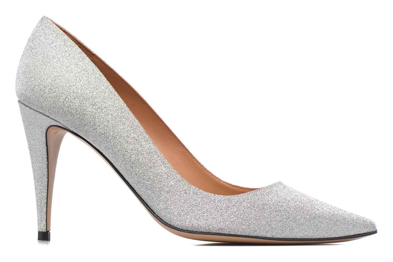 High heels Pura Lopez ZAAK117 Silver back view
