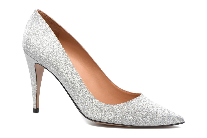 High heels Pura Lopez ZAAK117 Silver detailed view/ Pair view