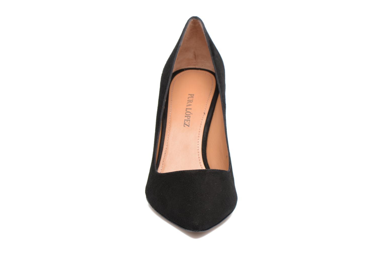 Zapatos de tacón Pura Lopez ZAAK117 Negro vista del modelo