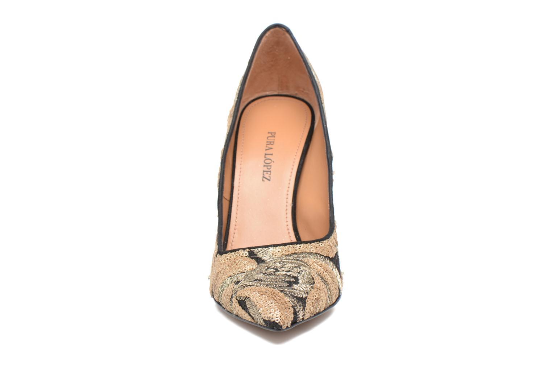 Zapatos de tacón Pura Lopez ZAAJ200B Multicolor vista del modelo