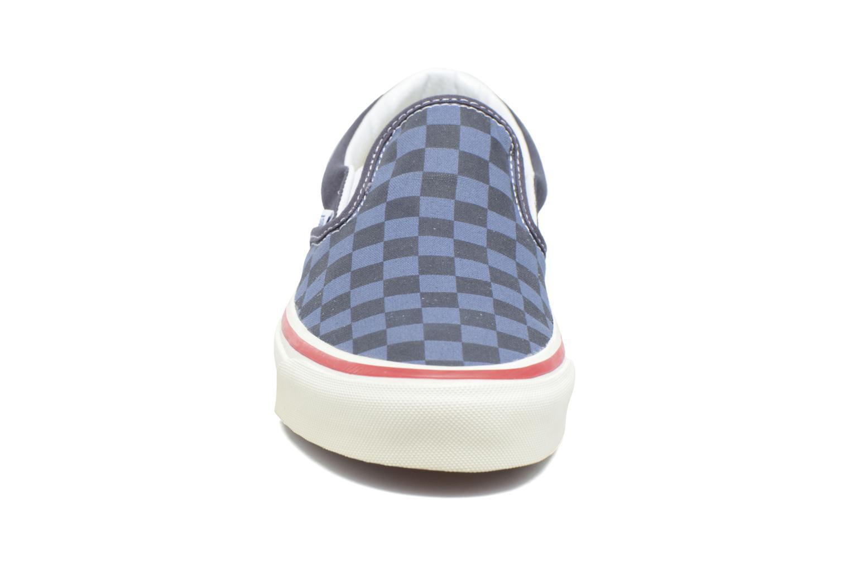 Baskets Vans Slip-On 98 Reissue Bleu vue portées chaussures
