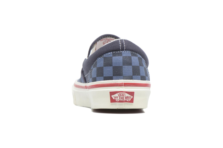 Baskets Vans Slip-On 98 Reissue Bleu vue droite