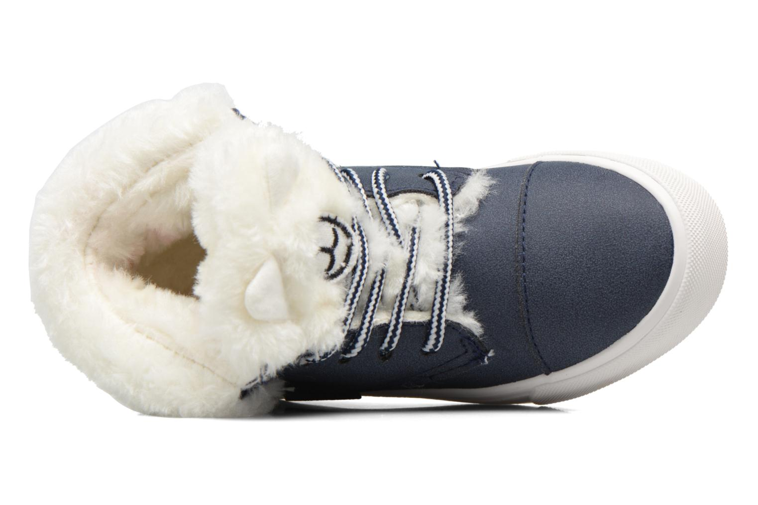 Sneaker I Love Shoes THULYE blau ansicht von links