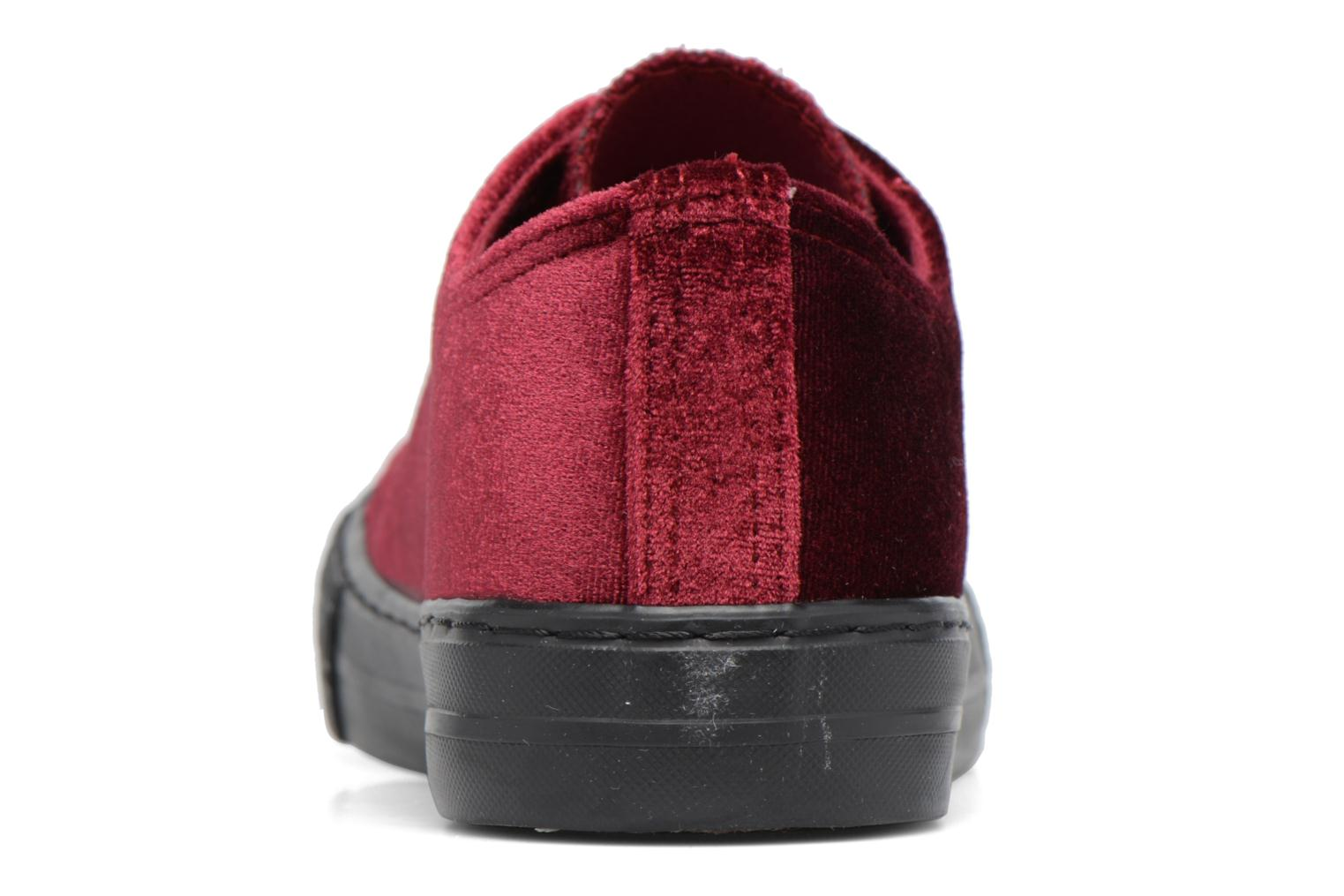 Trainers I Love Shoes THYSAL Burgundy view from the right