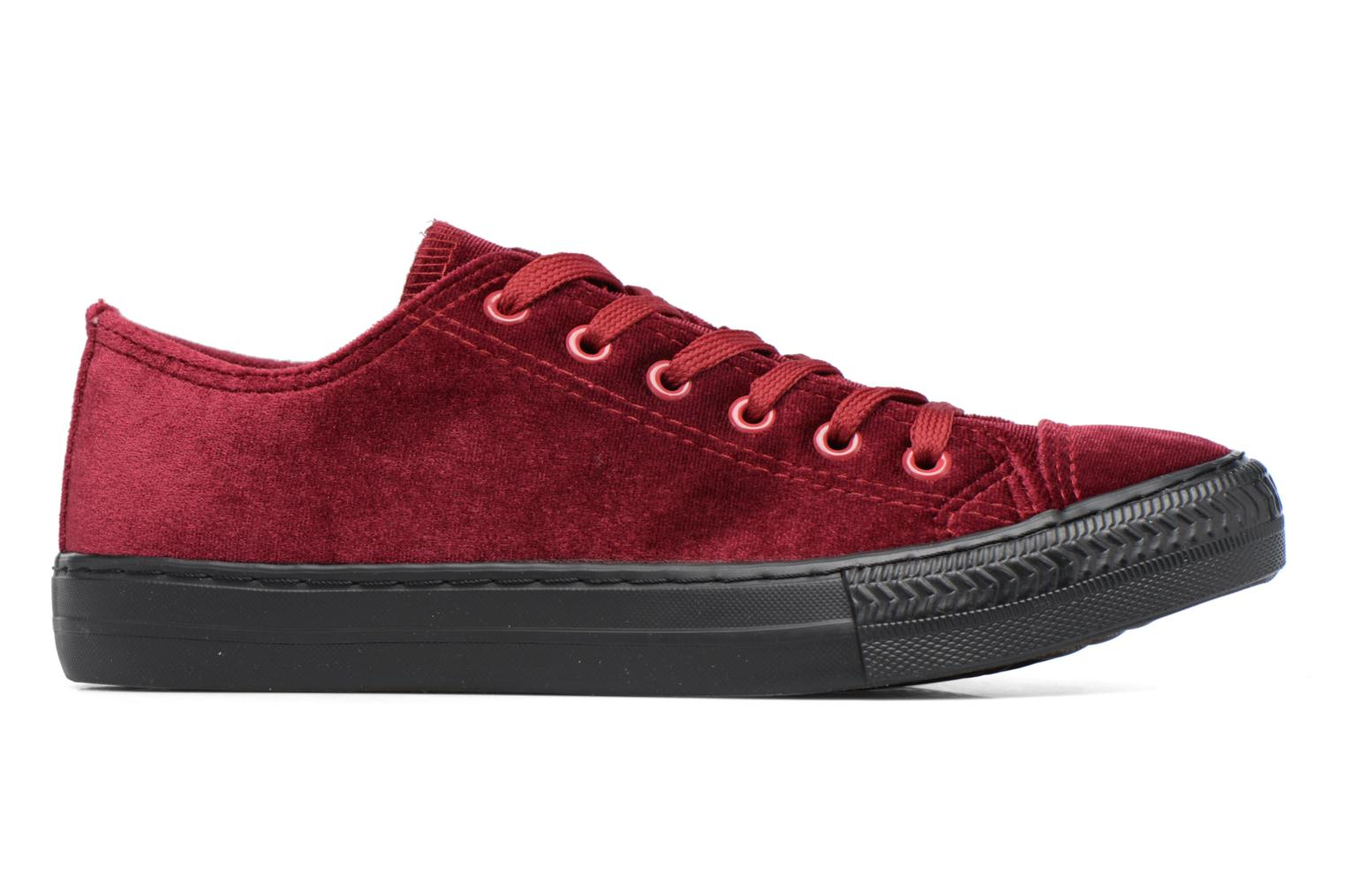 Trainers I Love Shoes THYSAL Burgundy back view
