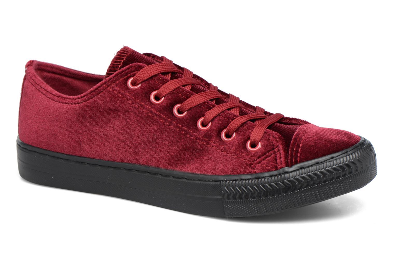 Sneakers I Love Shoes THYSAL Bordeaux detaljeret billede af skoene