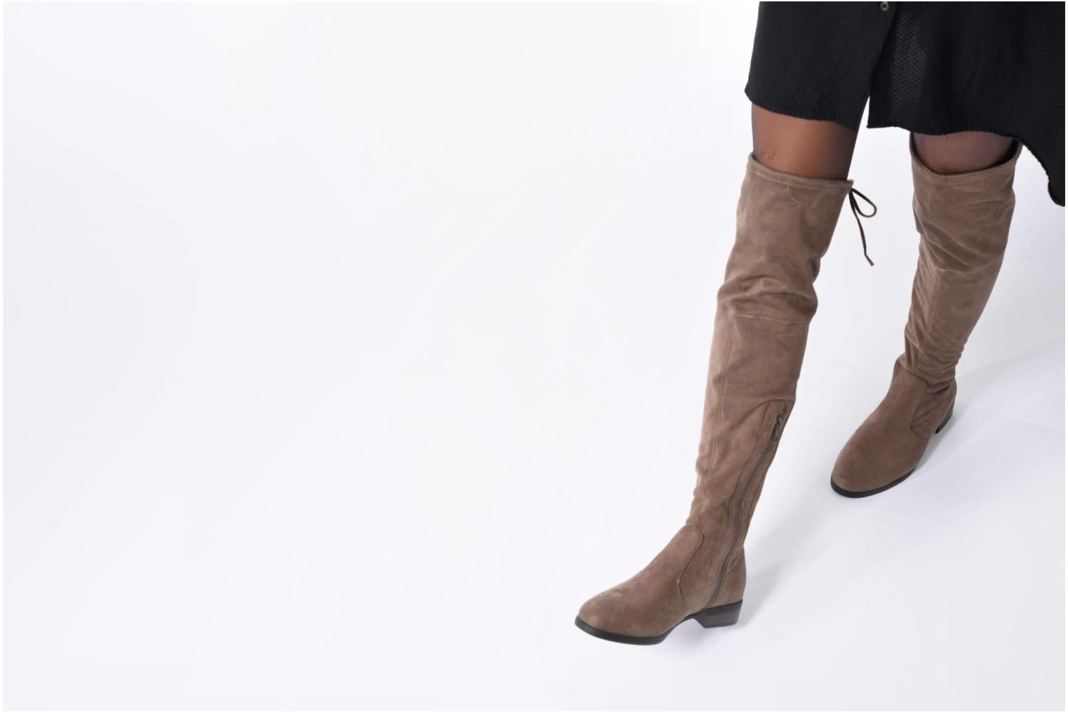 Boots & wellies I Love Shoes THALMA Black view from underneath / model view