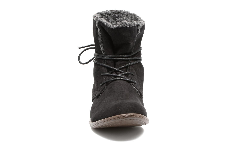 Ankle boots I Love Shoes THABLEAU Fourrée Black model view