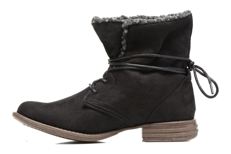 Ankle boots I Love Shoes THABLEAU Fourrée Black front view
