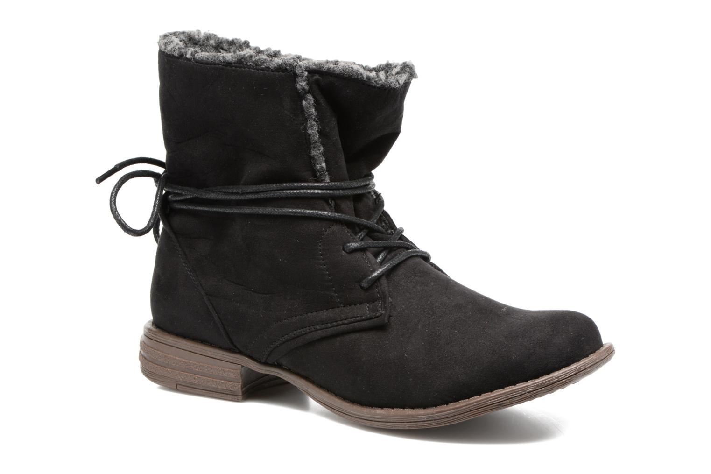 Ankle boots I Love Shoes THABLEAU Fourrée Black detailed view/ Pair view