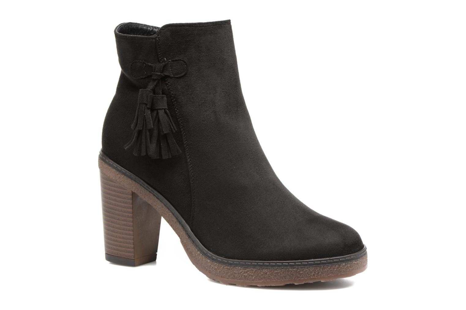 Ankle boots I Love Shoes THALUS Brown detailed view/ Pair view