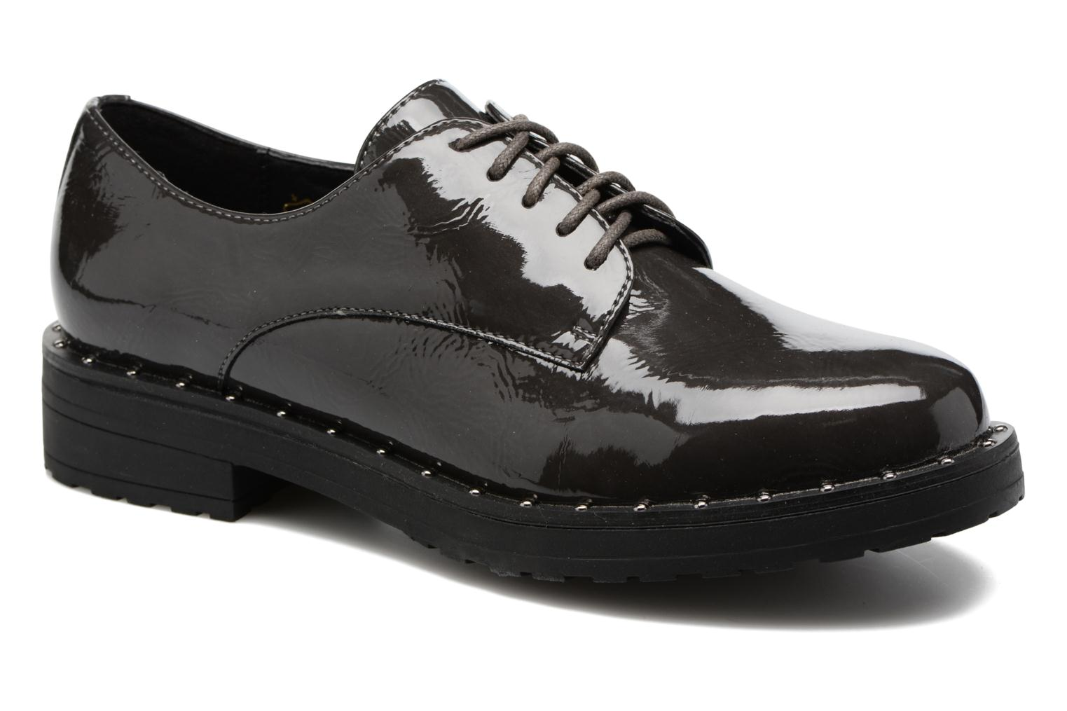 Lace-up shoes I Love Shoes THRYCIA Grey detailed view/ Pair view
