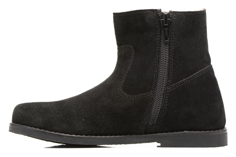 Bottines et boots I Love Shoes SYLVE LEATHER Noir vue face