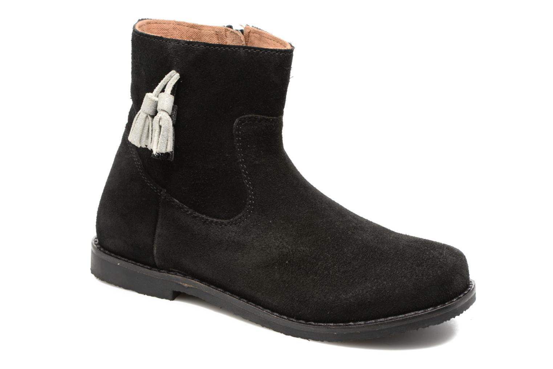 Bottines et boots I Love Shoes SYLVE LEATHER Noir vue détail/paire