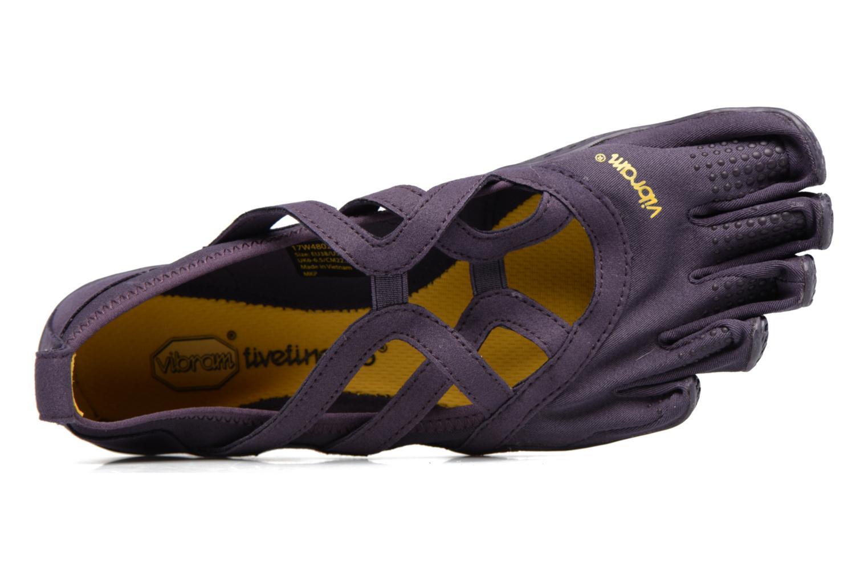 Chaussures de sport Vibram FiveFingers Alitza Loop Violet vue gauche