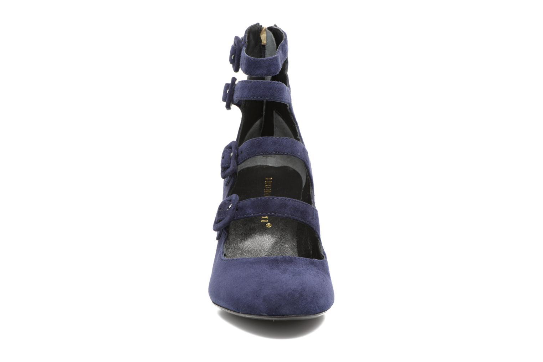 Escarpins Bruno Premi Albany Bleu vue portées chaussures