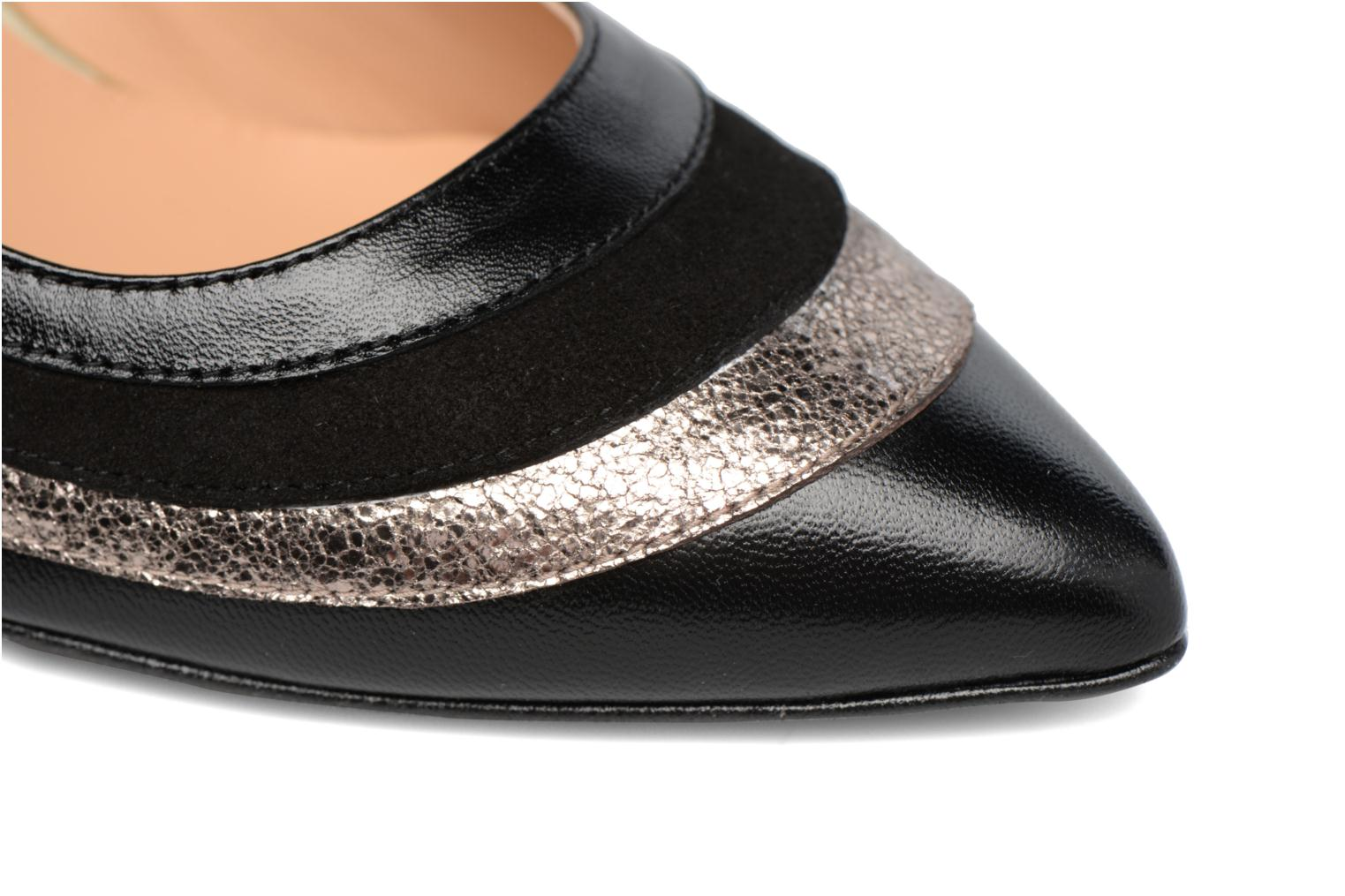 Snow Disco #4 Cuir Multi Noir