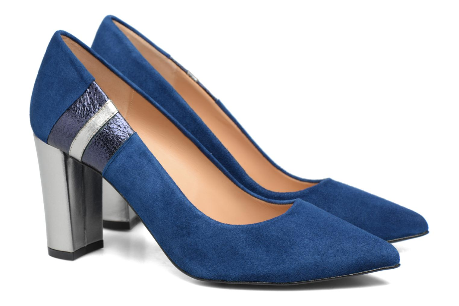Pumps Made by SARENZA Snow Disco #5 Blauw achterkant