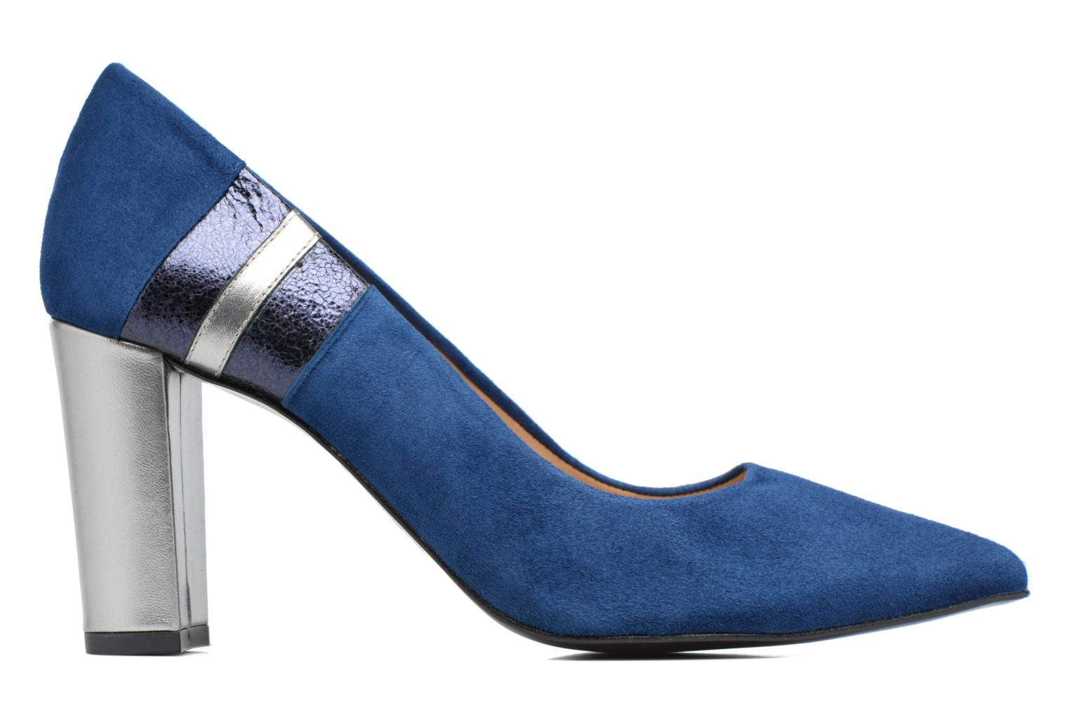 High heels Made by SARENZA Snow Disco #5 Blue detailed view/ Pair view