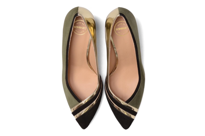 Décolleté Made by SARENZA Shoe Officer #6 Verde modello indossato