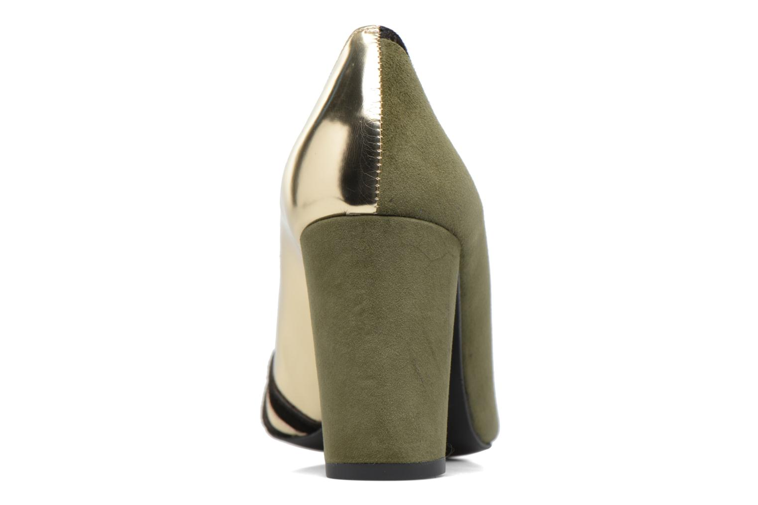 High heels Made by SARENZA Shoe Officer #6 Green front view