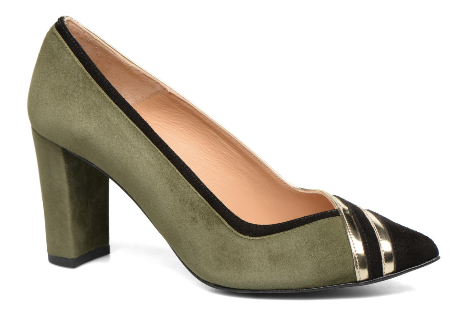 High heels Made by SARENZA Shoe Officer #6 Green view from the right