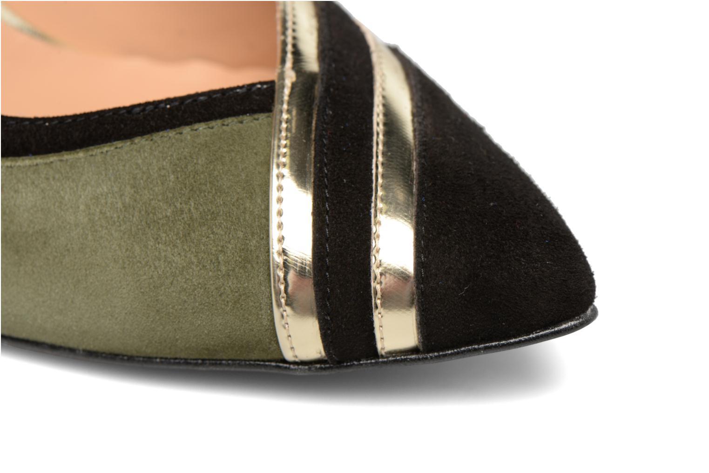 Zapatos de tacón Made by SARENZA Shoe Officer #6 Verde vista lateral izquierda