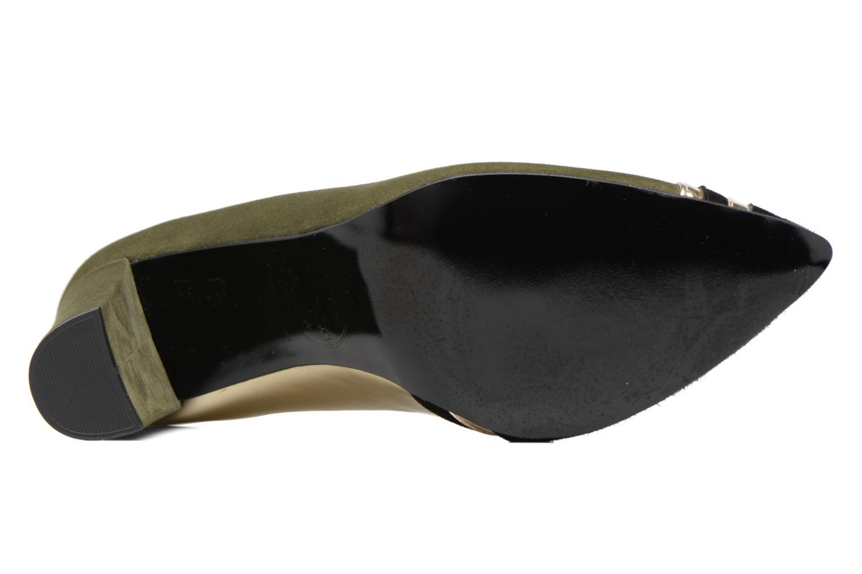 Shoe Officer #6 Cuir Velours kaki