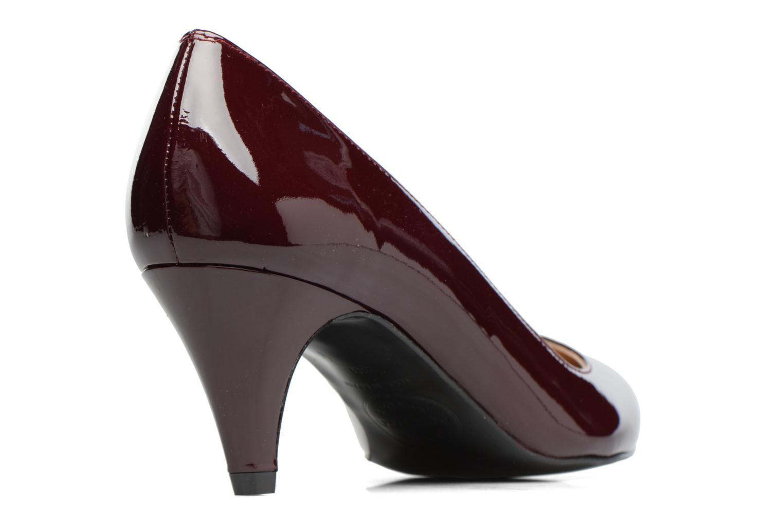 Shoe Officer #4 Cuir Vernis Bordeaux