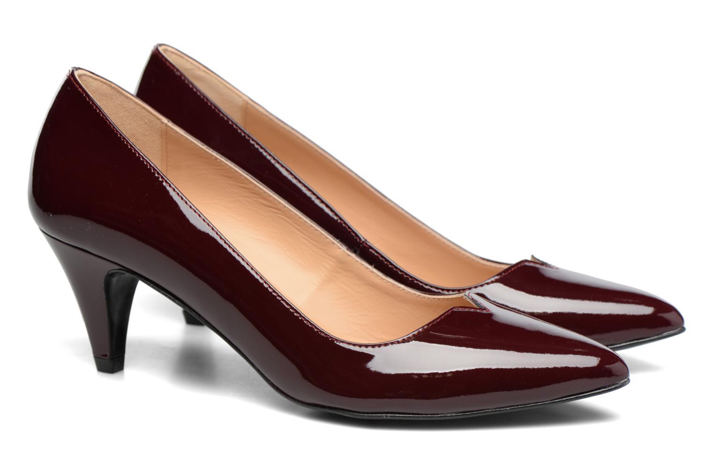 High heels Made by SARENZA 90's Girls Gang Escarpins #11 Black back view