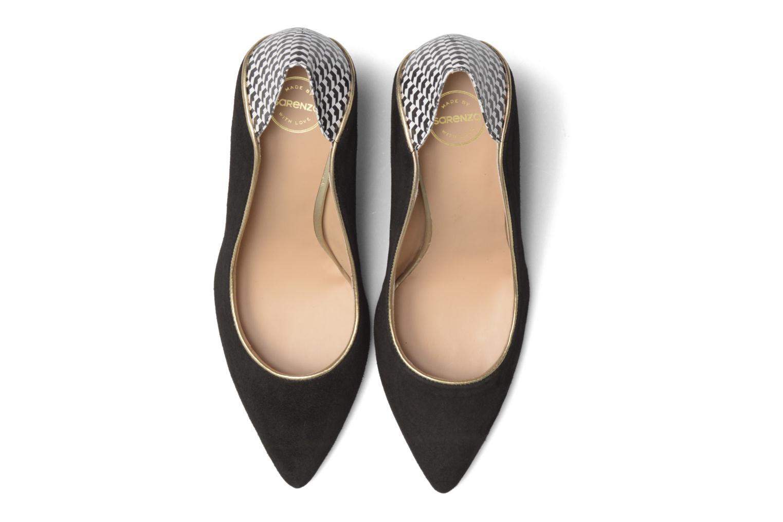 Escarpins Made by SARENZA Crazy Seventy #2 Noir vue portées chaussures