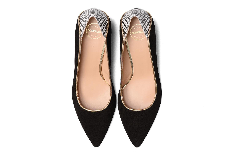 Escarpins Made by SARENZA Crazy Seventy #4 Noir vue portées chaussures