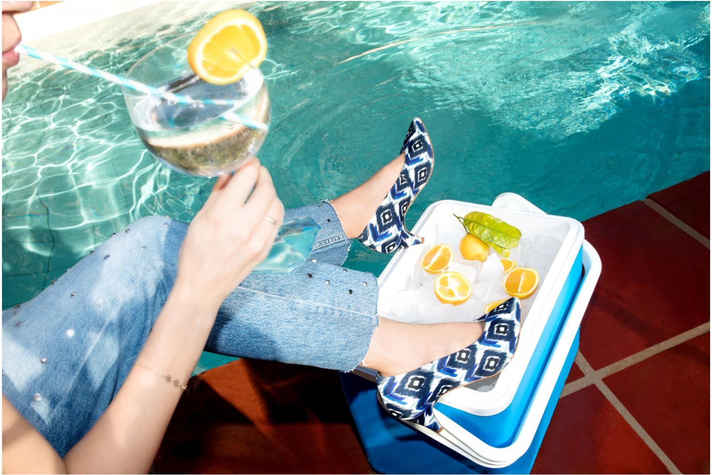 Escarpins Made by SARENZA Busy Girl Escarpins #3 Argent vue bas / vue portée sac