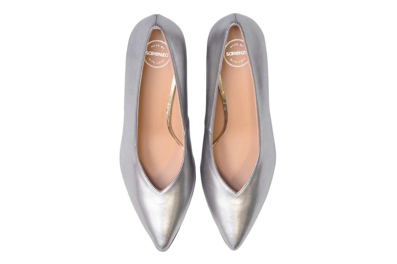 High heels Made by SARENZA 90's Girls Gang Escarpins #3 Silver model view