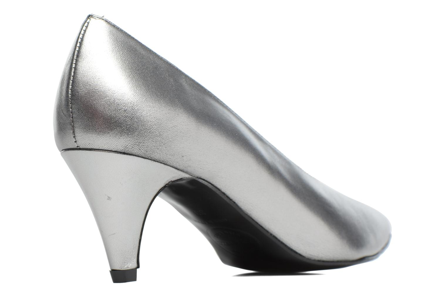 High heels Made by SARENZA Busy Girl Escarpins #3 Silver front view