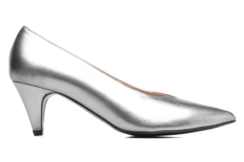 High heels Made by SARENZA 90's Girls Gang Escarpins #3 Silver detailed view/ Pair view