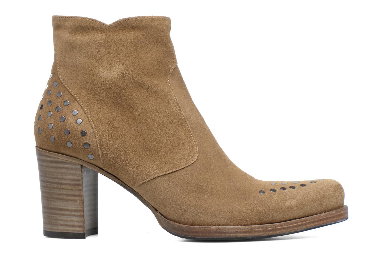 Bottines et boots Free Lance Paddy 7 Zip boot rivet Beige vue derrière