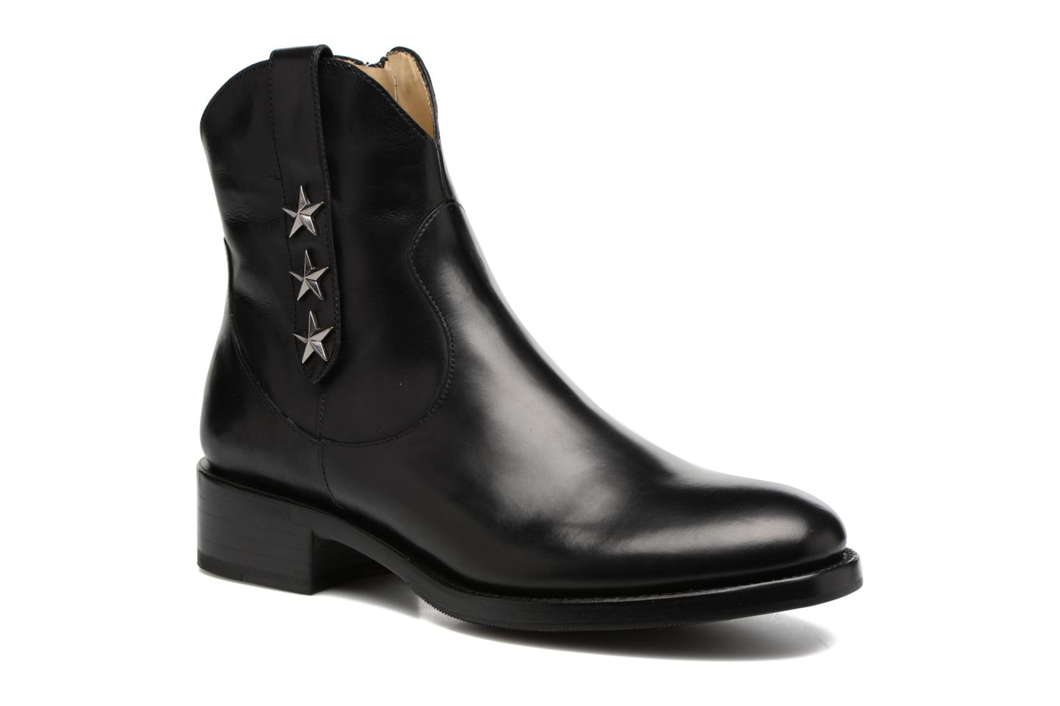 Mansory 4 West Zip Boot Star Berbero Noir